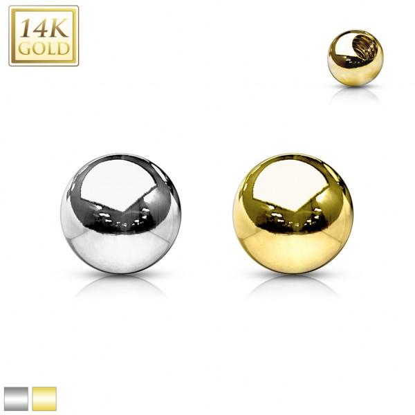 14 Karat Gold Piercing Ersatz Kugel