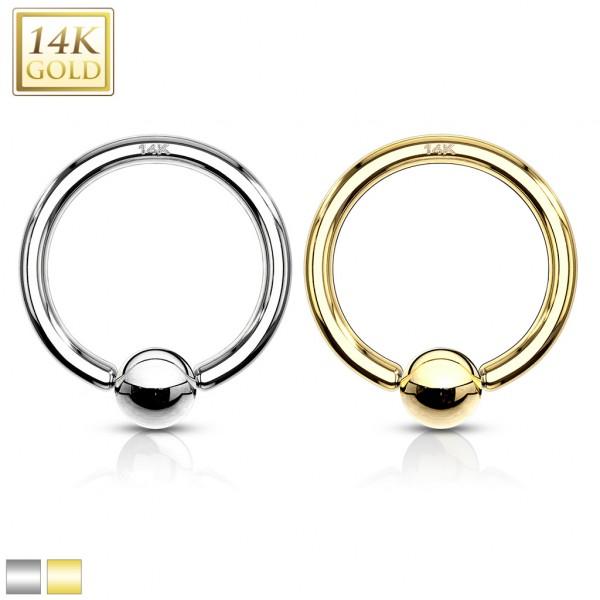 14 Karat Gelbgold CBR Ring